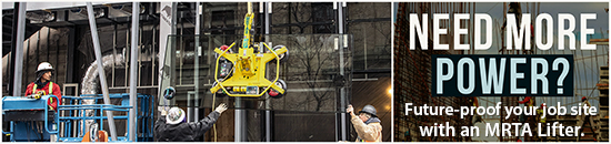 Need More Power? Future-proof your job site with a MRTA8 Lifter.