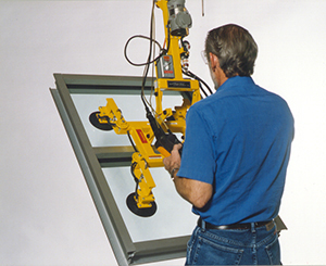 Wood's Powr-Grip Quadra-Tilt Vacuum Lifters are used for Many Applications Around the World.