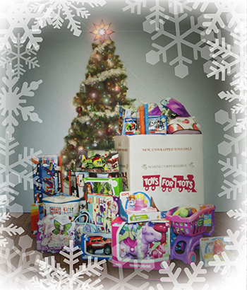 Each Year WPG Employees Contribute to Toys For Tots